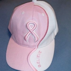 Accessories - Pink Breast Cancer Awareness Hat Cap NWOT